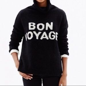 Madewell Bon Voyage Spell out Turtleneck Sweater